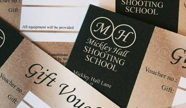 Mickley Hall Shooting School Shop