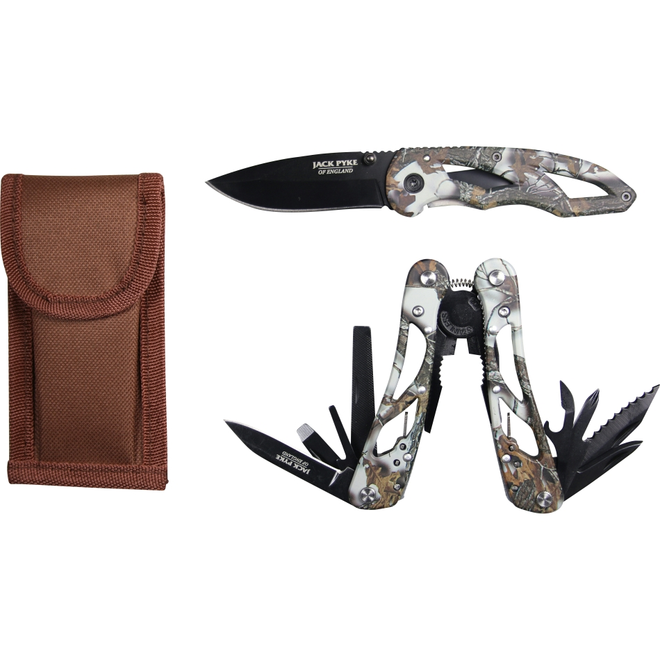 Camo Knife Set