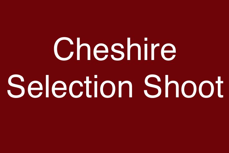 Cheshire Selection Shoot