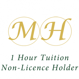 Mickley Hall 1 Hours Tuition Non Licence Holder
