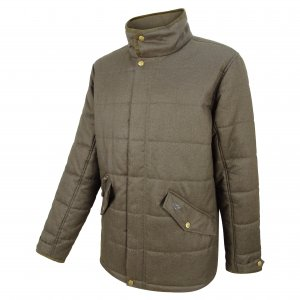 Elgin Men's Quilted Jacket - Angled)