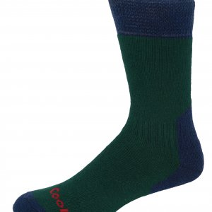 H009 Adventure Coolmax Sock (GreenNavy) (p41)