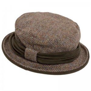 Harris Tweed Ladies Hat