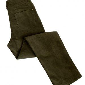 Ladies Cord Jeans (Olive) (p32)