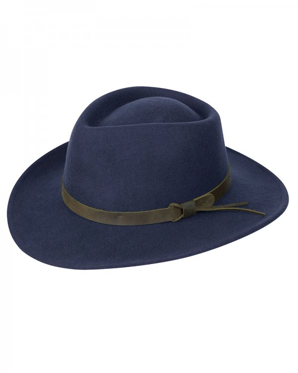 Perth Navy Felt Hat