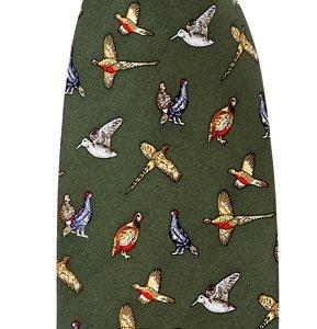 Silk Country Tie (Mixed Game Birds) (p27)