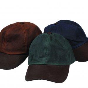 Waxed Baseball Caps (p36)