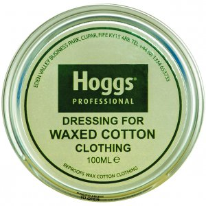 Waxed Cotton Dressing Tin (p35)