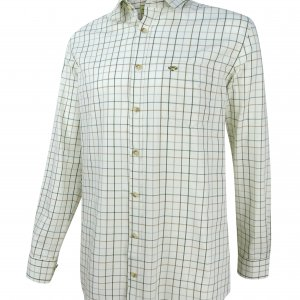 Hoggs of Fife Balmoral Luxury Tattersall Shirt BALM/NW/190
