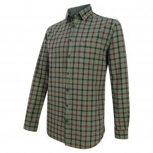 Hoggs of Fife Braemar Check Shirt BRST/GR/6