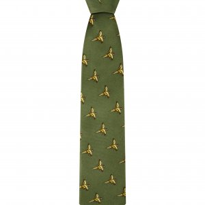Hoggs of Fife Silk Country Tie CTIE/GR/1