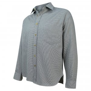 Hoggs of Fife Pure Cotton Pin Check Shirt CTST/BC/6