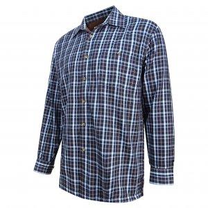 Hoggs of Fife Micro-Fleece Lined Shirt FLST/BA/5