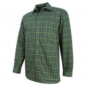 Hoggs of Fife Micro-Fleece Lined Shirt FLST/BE/5