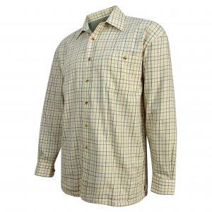 Hoggs of Fife Micro-Fleece Lined Shirt FLST/BI/5