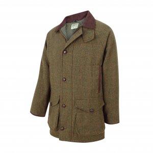 Hoggs of Fife Harewood Lambswool Tweed W/P Shooting Coat HACT/GR/5