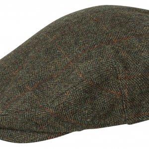 Hoggs of Fife Harewood Lambswool Tweed W/P Cap HARC/GR/4