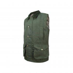 Hoggs of Fife Helmsdale Tweed Waistcoat HEWC/GR/5