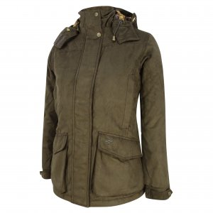 Hoggs of Fife Rannoch Ladies W/P Hunting Jacket LHJK/FG/18