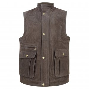 Hoggs of Fife Lomond Leather Waistcoat LLWC/CH/6