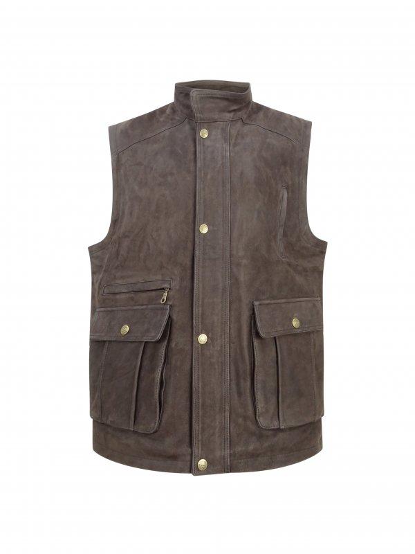 Hoggs of Fife Lomond Leather Waistcoat LLWC/CH/6