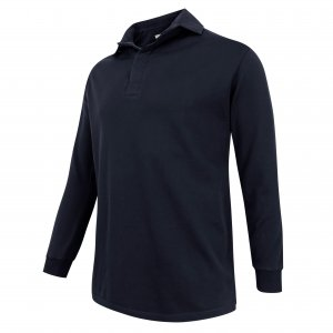 Hoggs of Fife Long-Sleeve Rugby Shirt LSRU/NV/5