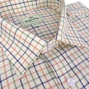 Hoggs of Fife Tavistock Multi-Check Shirt TAVI/GB/6