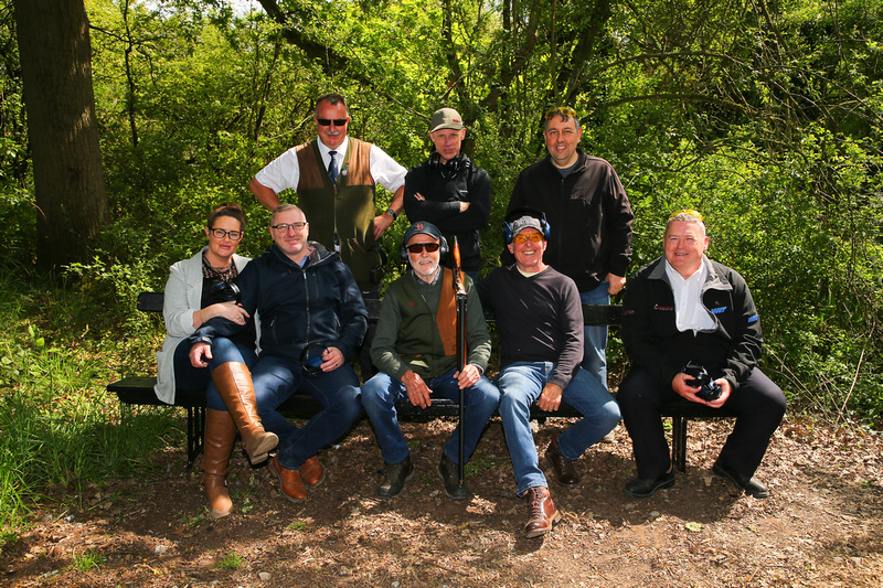Clay Pigeon Shooting Practice Cheshire